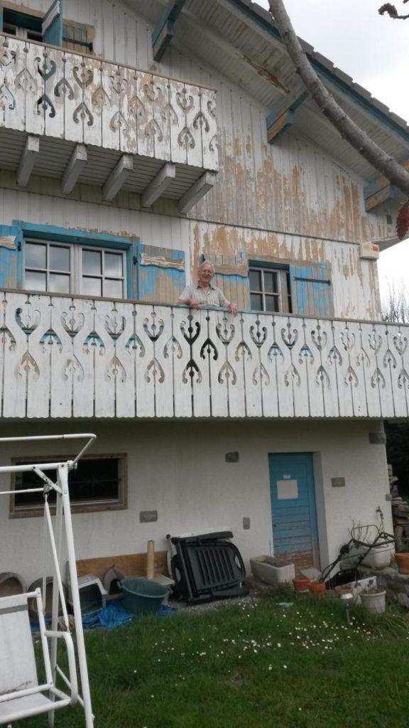 Avant rénovation de façade